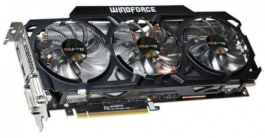 GIGABYTE приготовила GeForce GTX 770 с кулером WindForce 3X