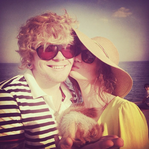Татьяна Денисова и Александр Кривошапко передохнули в Ялте (фото)