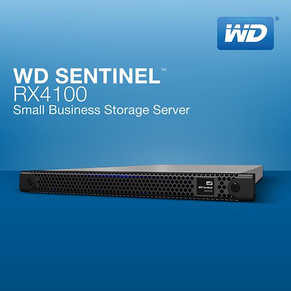 WD продемонстрировала прилавочный компьютер Sentinel RX4100