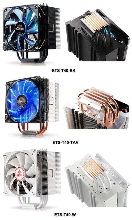 3 новинки с серии CPU-кулеров