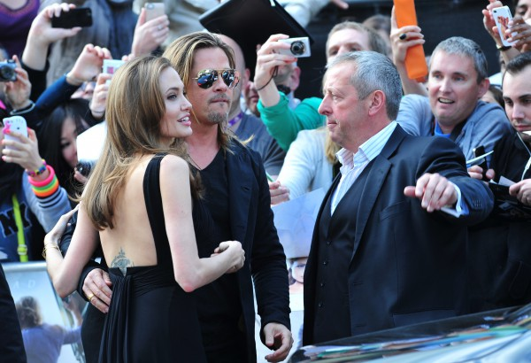 Анджелина Джоли в первый раз вышла в свет после процедуры (фото)