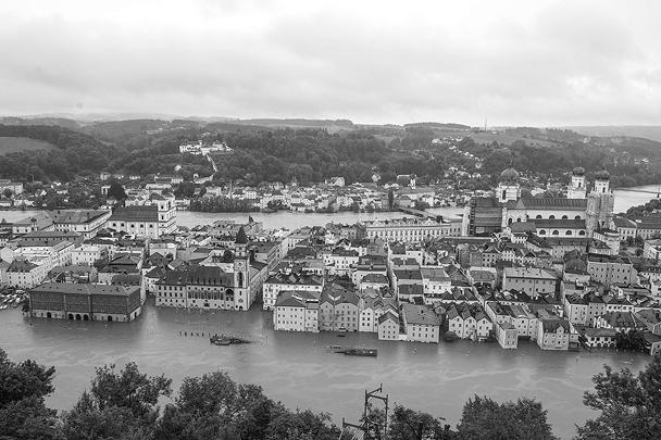 Из-за наводнения в Дрездене оглашено чрезвычайное положение