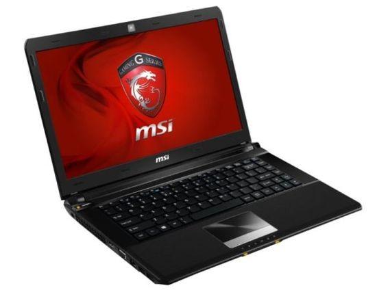 Игровой компьютер MSI GE40 на основе микропроцессора Haswell
