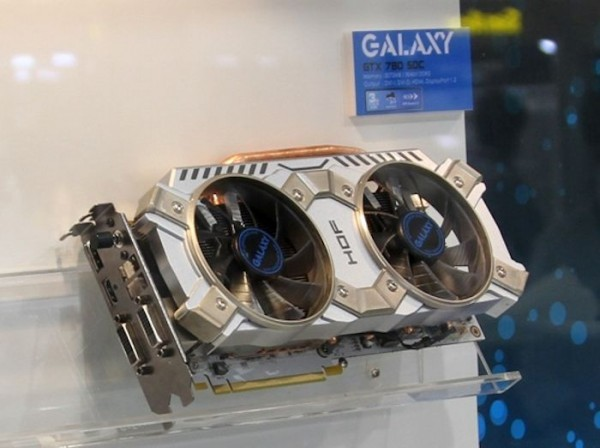 Трио видеокарт GeForce GTX 770/780