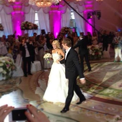 Свадьба Леры Кудрявцевой собрала весь астральный высший свет (ФОТО)