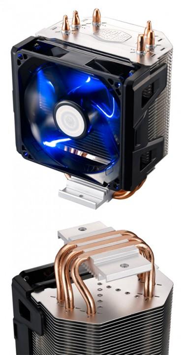 Cooler Мастер произвела недорогой микропроцессорный вентилятор