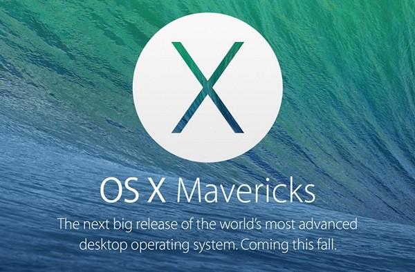 Эпл OS X 10.9 Mavericks: свежие функции и технологии
