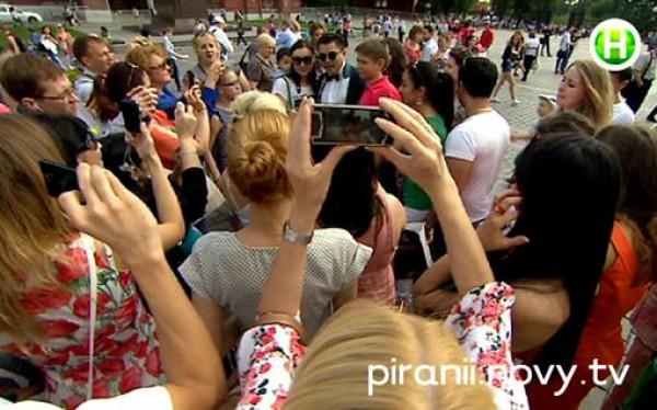Российский лже-PSY организовал собственный вечер на площади в городе Москва