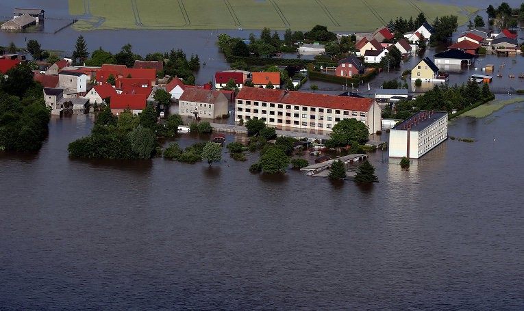 Вред от наводнения в Германии составляет 12 миллионов euro