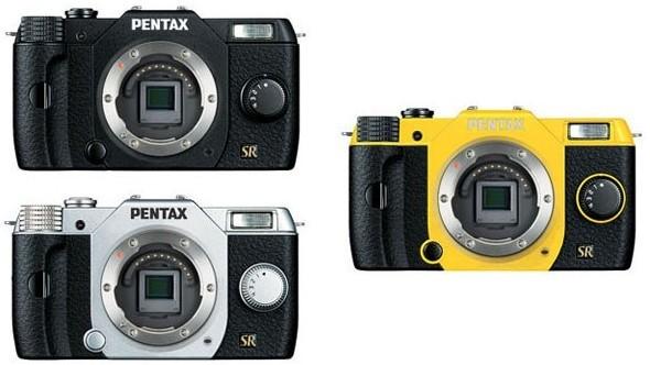 В интернет попали картинки цифровой камерыPentax Q7