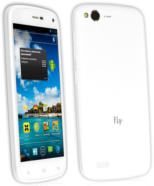 Fly IQ4410 Quad Phoenix: узкий двухсимочный телефон