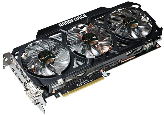 Gigabyte продемонстрировала адаптер GeForce GTX 770 WindForce 3X