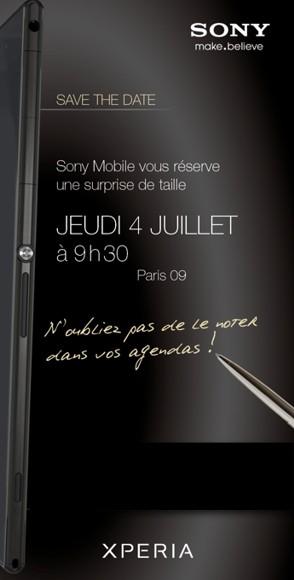Планшетофон Сони Xperia ZU вполне может быть представлен 4 августа