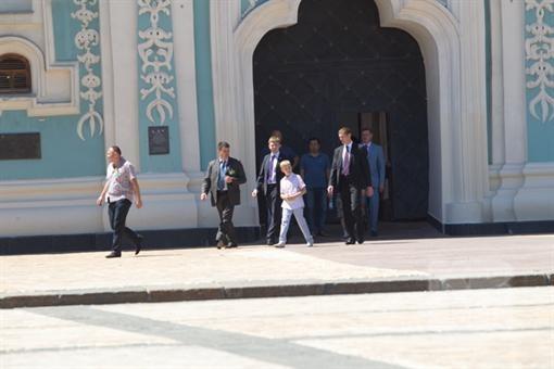"""Сын Лукашенко принял решение презентовать """"Софии Киевской"""" подарок"""