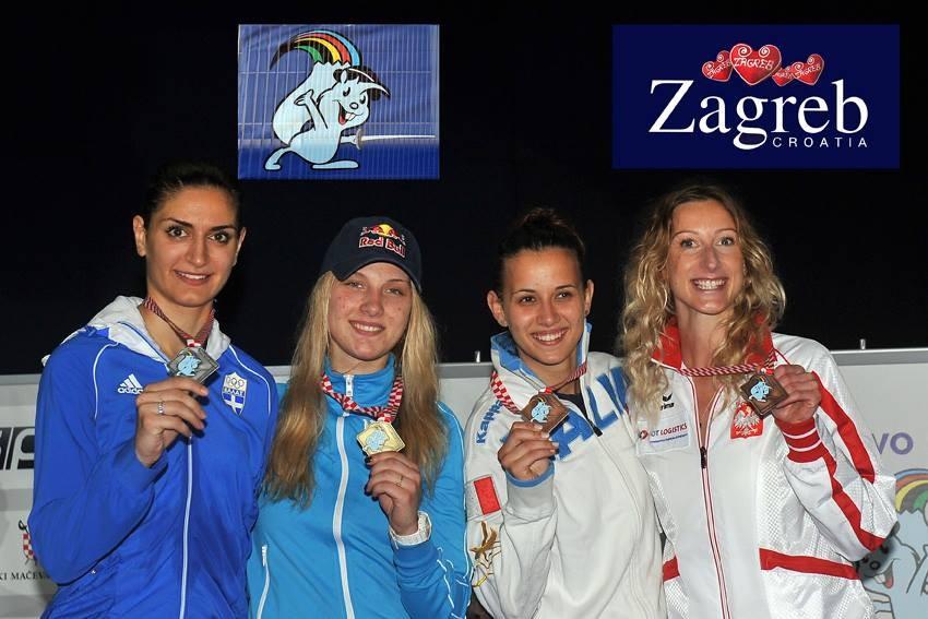 Украинка стала 4-кратной чемпионкой Европы по фехтованию