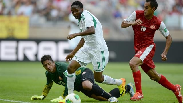 Сборная Таити проиграла Нигерии с нелестным счетом