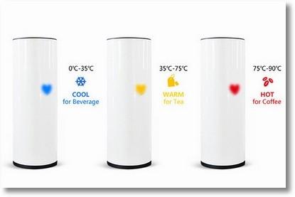 Чашечка с детектором температуры побеспокоится о нашем состояние здоровья