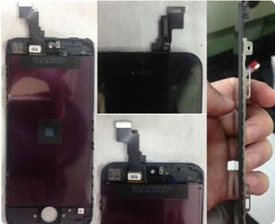 Эпл продемонстрировала фото разложенного экрана Айфон 5С