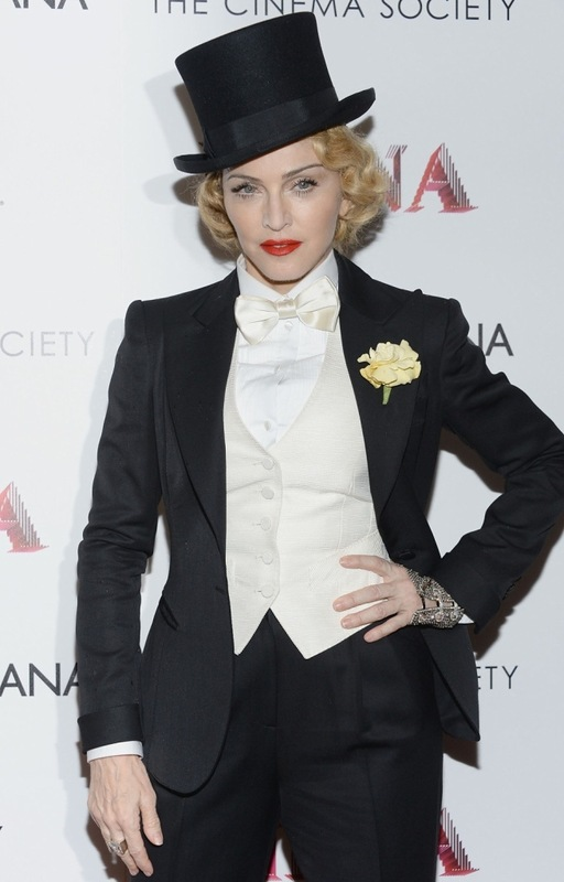 Мадонна снова изумила аудиторию необычным убором (фото)
