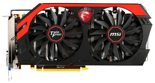Фотографии адаптера MSI GeForce GTX 760 Twin Frozr Gaming