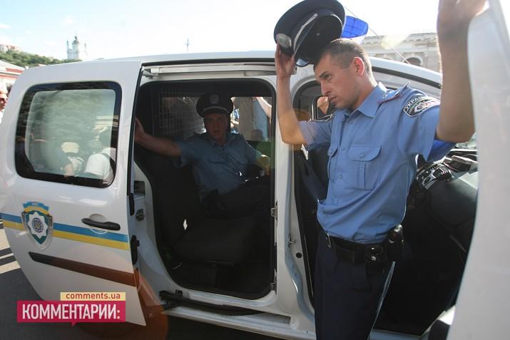 У Могилянки притормозили 8 участников конфликта (ФОТО)