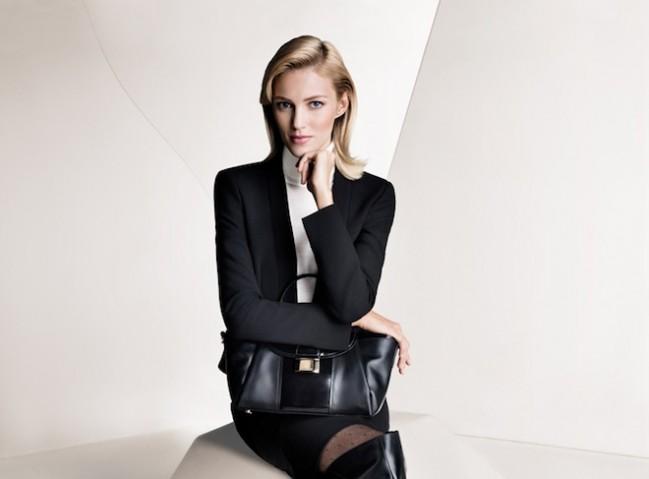 Hugo Boss продемонстрировал коллекцию для бизнес-леди