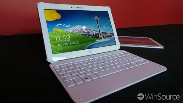 «Самсунг» продемонстрировала самый узкий планшетник с ОС Виндоус 8
