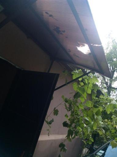 В Одессе отпала часть стенки у новостроя