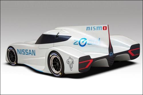 Ниссан продемонстрировала электрокар для Ле-Мана-2014