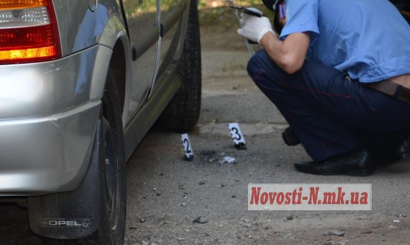 "В Николаеве подорвали ""Opel"" милиционера"