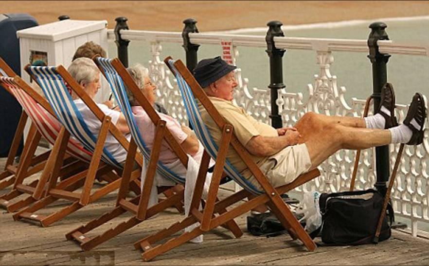 Уровень жизни пожилых людей в различных государствах