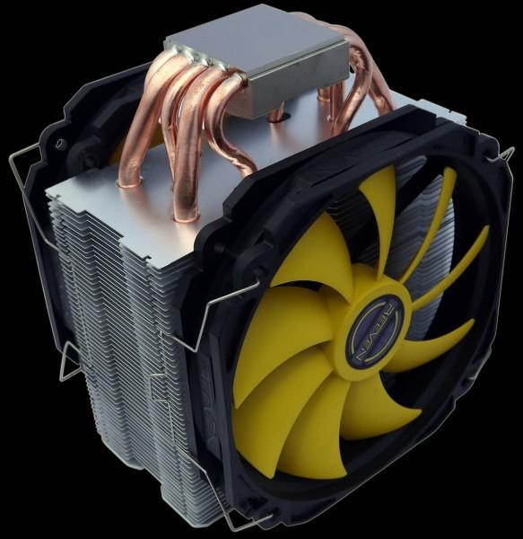 Слабый и высокоэффективный микропроцессорный вентилятор Reeven RC-1401