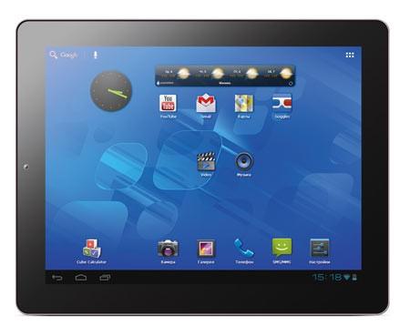 Организация Nexus сделала свежий игровой планшетник Bliss Pad B9740