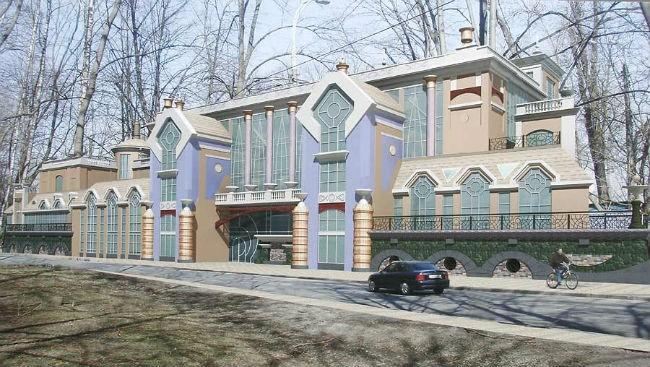 На откосах Днепра могут возвести бизнес-центр (ФОТО)