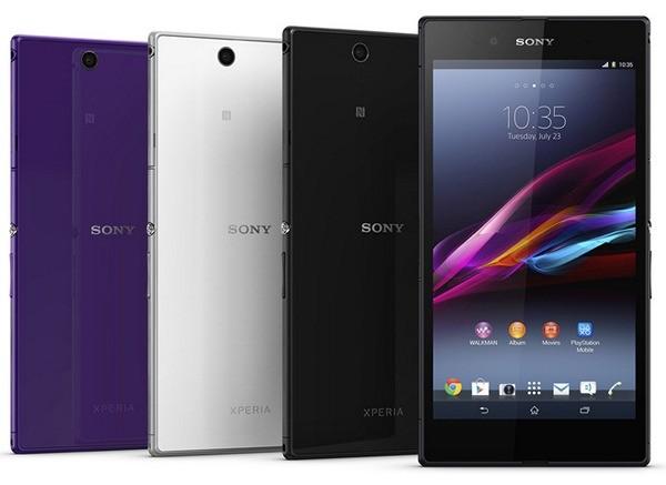 """Телефон Сони Xperia Z Ultra: 6,4"""" с обороной от жидкости"""