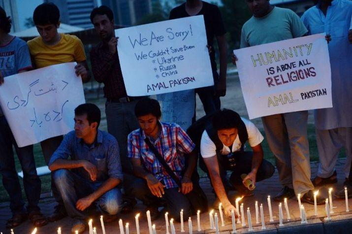 Пакистанцы тоскуют по мертвым альпинистам (ФОТО)