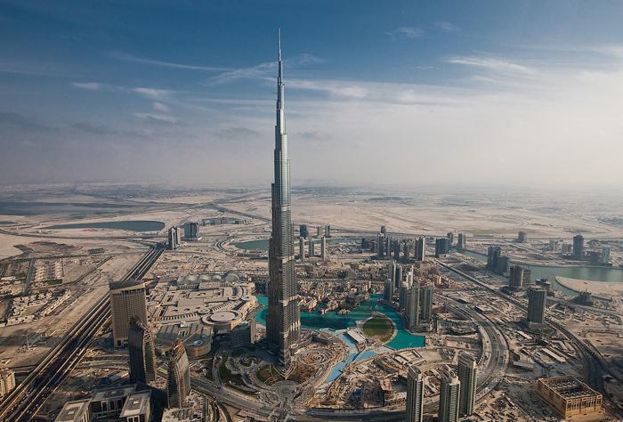 Google сняла картины с высочайшего во всем мире небоскреба