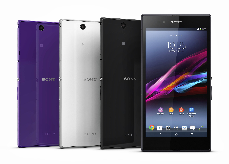 Сони продемонстрировала свежий телефон великан Xperia Z Ultra