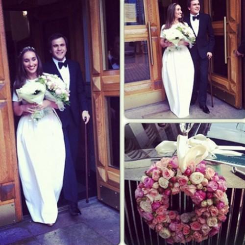 В интернет попали фото со свадьбы дочери Винокура (фото)