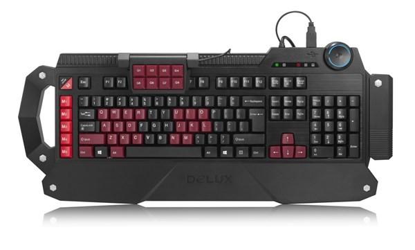 Delux T21: клавиатура для игроков в компьютерные игры