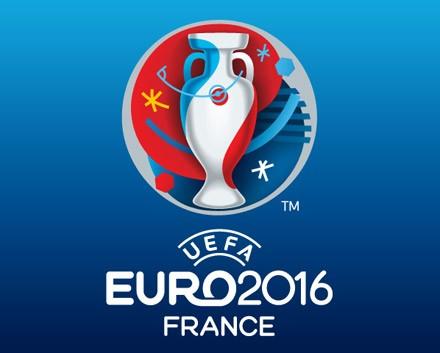 Во Франкфурте прошла демонстрация логотипа Евро-2016: (ФОТО)