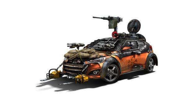 Хендай сделал автомобиль-убийцу зомби
