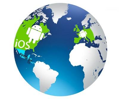 ОС Андроид господствует в Европе