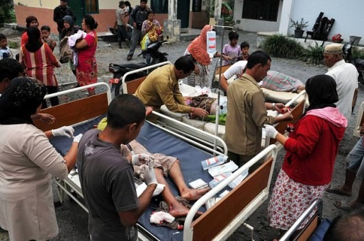 В Индонезии в итоге землетрясения были убиты 22 человека