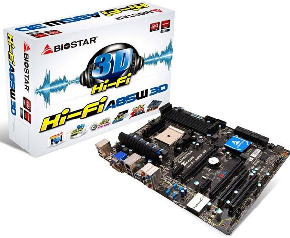 Biostar Hi-Fi A85W 3D: оплата для знатоков звука