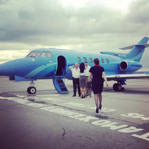 Тина Канделаки приняла решение обзавестись собственным самолетом (фото)