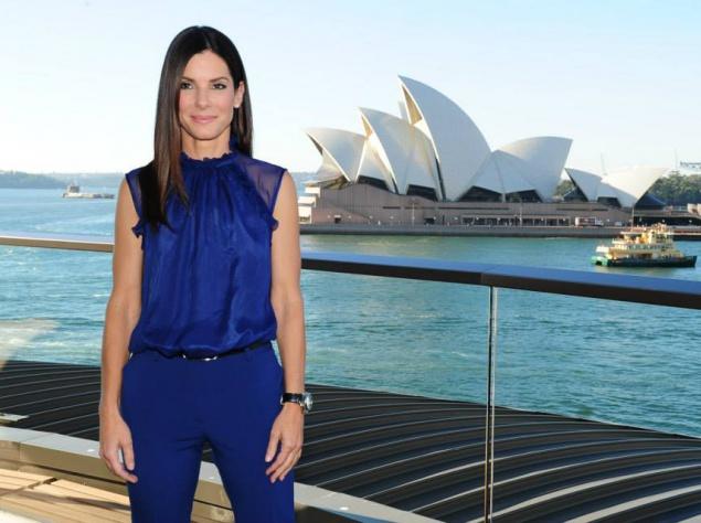 Сандра Баллок обворожила Австралию безукоризненным вариантом (фото)