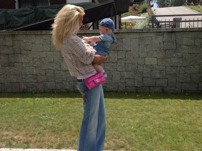 Яна Рудковская продемонстрировала 5-месячного сына (фото)