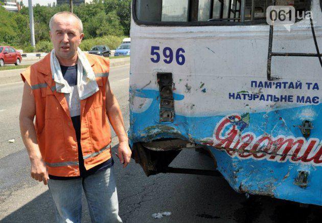 После ДТП в Запорожье погибла путешественница маршрутки