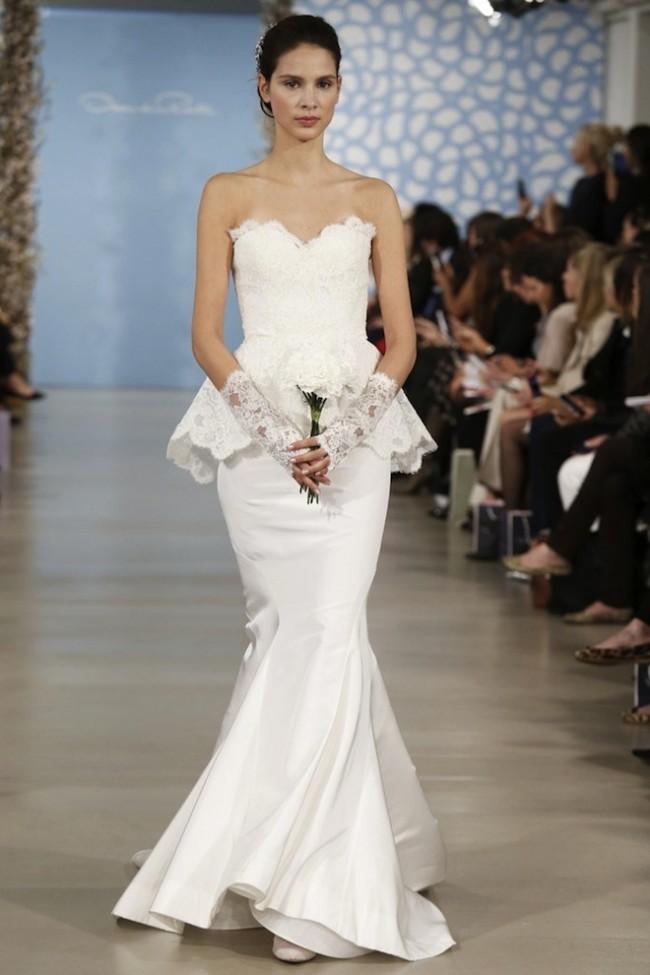 Oscar de la Renta: свадебная коллекция весна-2014 (фото)